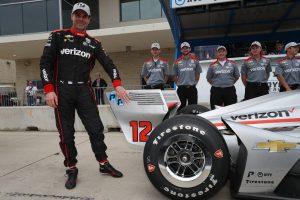 Will Power P1 pole award IndyCar Classic Circuit of the Americas COTA Team Penske