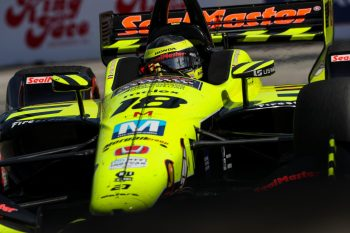 Bourdais in action at the Acura Grand Prix of Long Beach, earlier this season. (Image: IndyCar)
