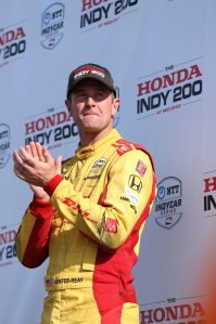 Ryan Hunter-Reay Honda 200 Mid Ohio podium INDYCAR
