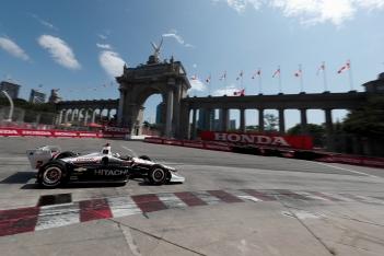 Josef Newgarden Honda Indy Toronto 2019 Princes Gate Team Penske IndyCar
