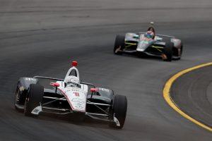 Josef Newgarden Pocono Raceway 2018 INDYCAR
